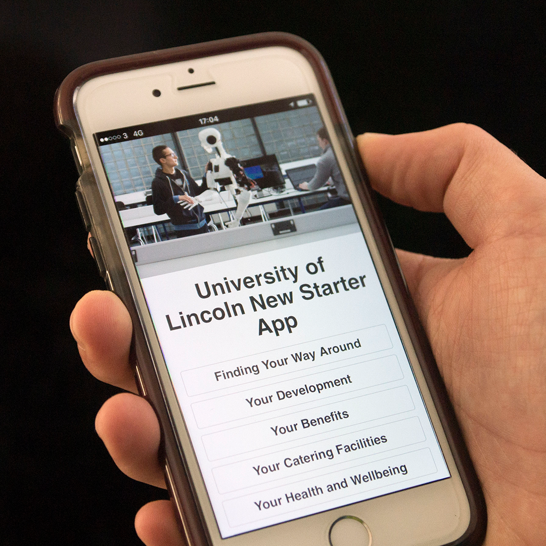 Tall Lime Limited designed and developed an award winning web app for new starters at the University of Lincoln.