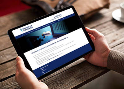 Tall Lime Limited, Broxholme Associates website design for business.