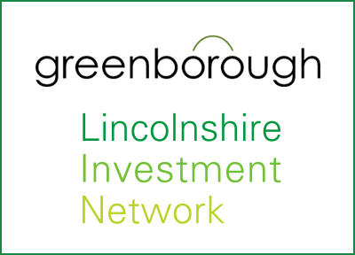 Graphic Design work for Greenborough and the Lincolnshire Investment Network